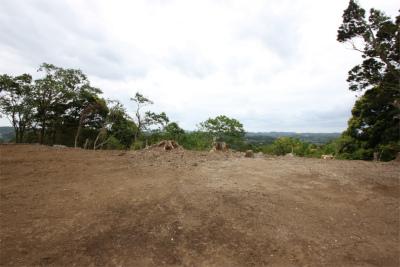 田舎暮らし 千葉 市原市 敷地202坪 高台からの広々パノラマ風景!
