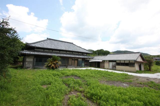 田舎暮らし 千葉 鴨川市 敷地広々 のどかな環境  売地(上物有)
